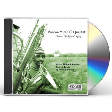 Roscoe Mitchell LIVE AT A SPACE 1975 CD