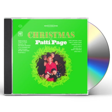 CHRISTMAS WITH PATTI PAGE CD