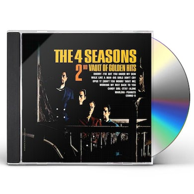 Frankie Valli & Four Seasons 2ND VAULT OF GOLDEN HITS CD