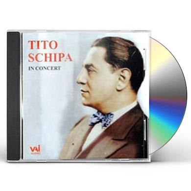 Tito Schipa IN CONCERT CD