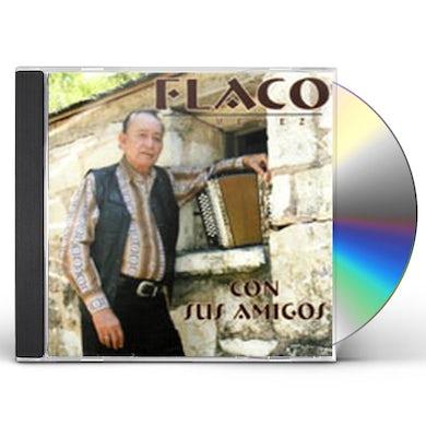 Flaco Jimenez CON SUS AMIGOS CD
