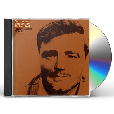 CISCO HOUSTON SINGS SONGS OF THE OPEN ROAD CD