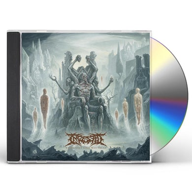 INGESTED Where Only Gods May Tread CD