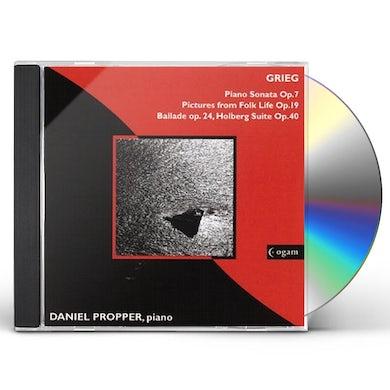 Grieg PIANO SONATA- PROPPER CD