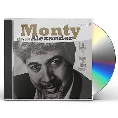 Monty Alexander SUNDAY NIGHT: LIMITED CD