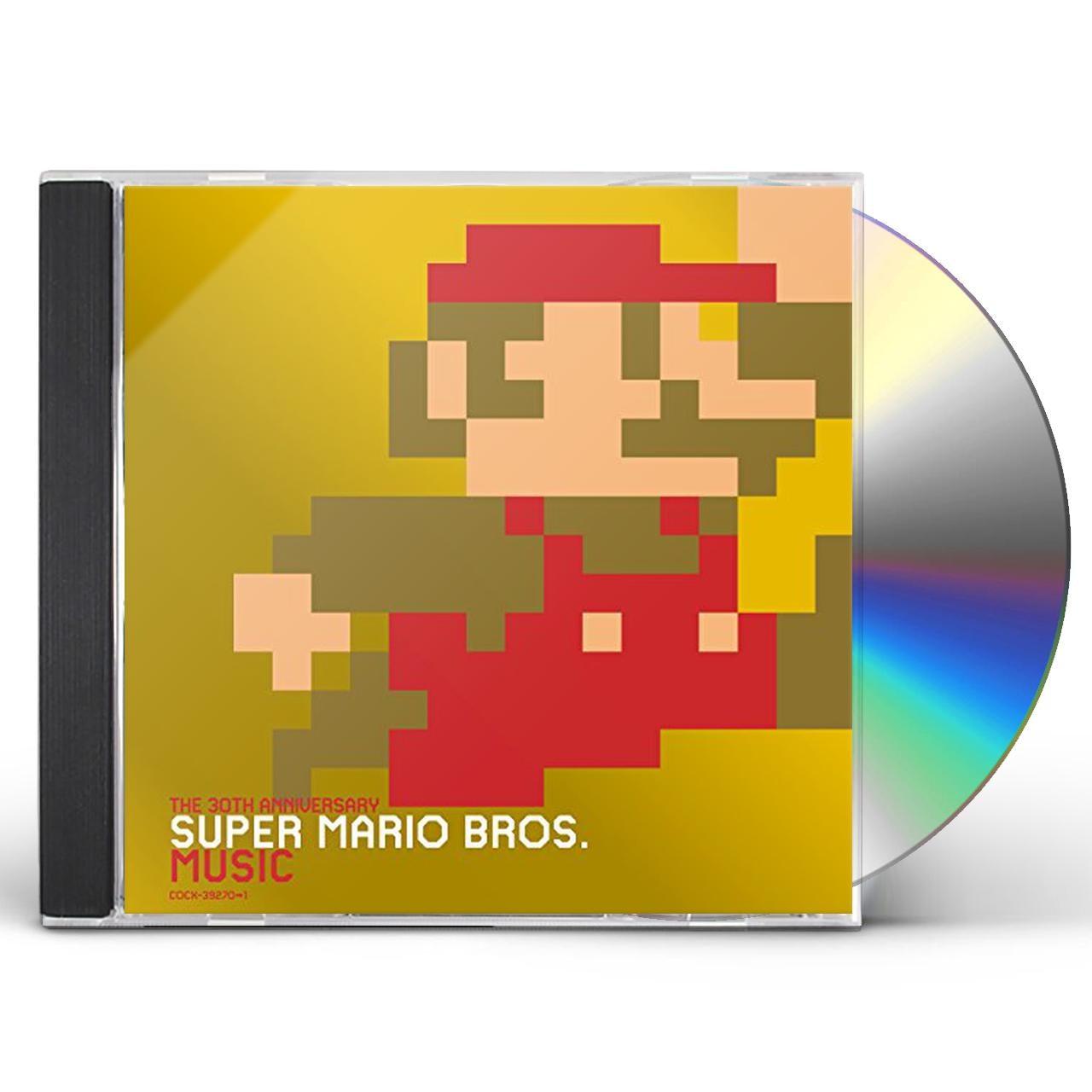 Nintendo 30 SHUUNEN KINEN BAN SUPER MARIO BROS MUSIC CD