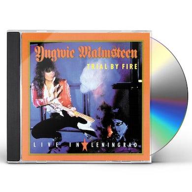 Yngwie Malmsteen TRIAL BY FIRE: LIVE IN LENINGRAD CD