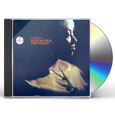 Lorez Alexandria ALEXANDRIA THE GREAT CD