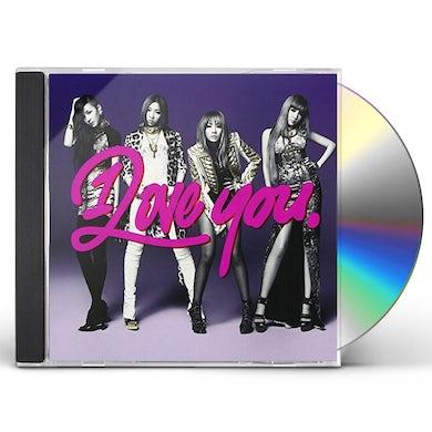 2NE1 I LOVE YOU CD