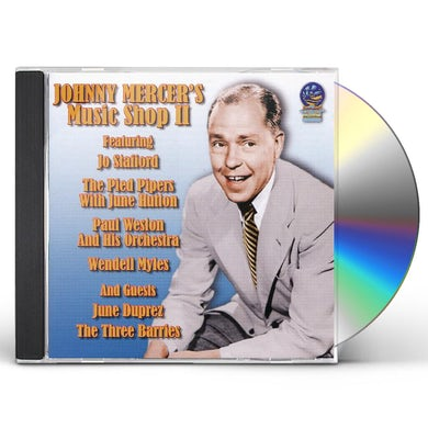 Johnny Mercer MUSIC SHOP CD