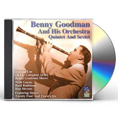 Benny Goodman & His Orchestra AFRS BENNY GOODMAN SHOW 10 CD