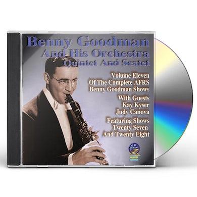 Benny Goodman & His Orchestra AFRS BENNY GOODMAN SHOW 11 CD