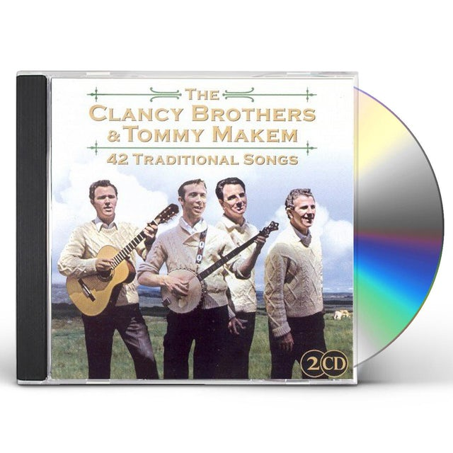 Clancy Brothers 42 TRADITIONAL SONGS CD