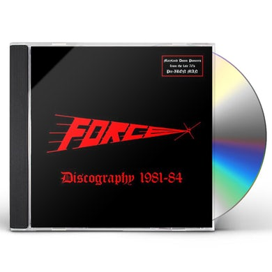 Force DISCOGRAPHY 1981-1984 CD