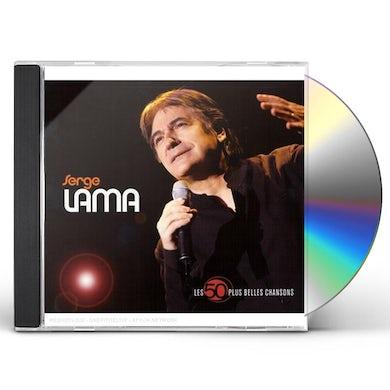 Serge Lama LES 50 PLUS BELLES CHANSONS CD