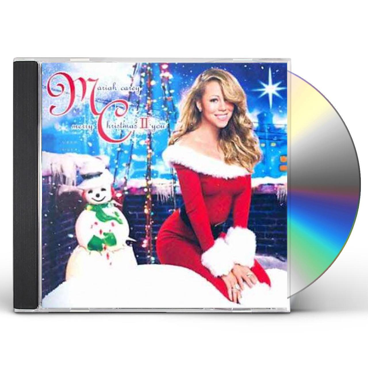 Mariah Carey Christmas Album Cover.Mariah Carey Merry Christmas Ii You Cd