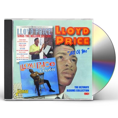 Lloyd Price ALL OF ME: ULTIMATE ALBUMS COLLECTION 1961 CD