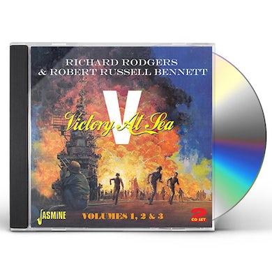 Richard Rodgers VICTORY AT SEA 1 2 3 CD