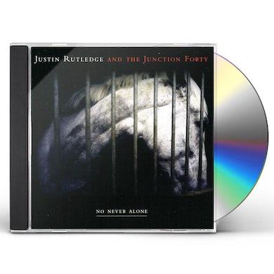Justin Rutledge NO NEVER ALONE CD
