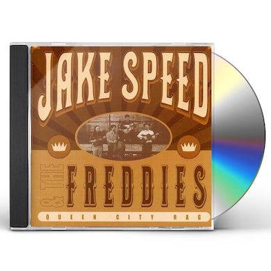 Jake Speed & The Freddies QUEEN CITY RAG CD