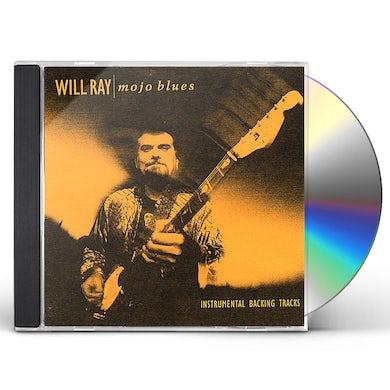 Will Ray MOJO BLUES JAM TRAX CD