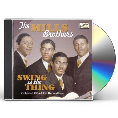 Mills Brothers SWING IS THE THING (1934-38) CD