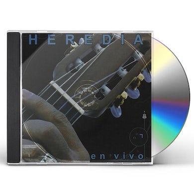 Victor Heredia HEREDIA EN VIVO 1 CD