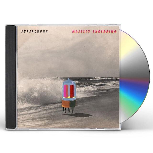 Superchunk MAJESTY SHREDDING CD