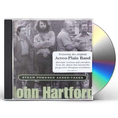 John Hartford STEAM POWERED AEREO-TAKES CD