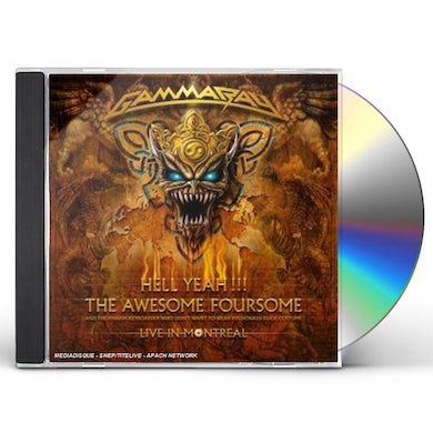 Gamma Ray HELL YEAH: THE AWESOME FOURSOME CD