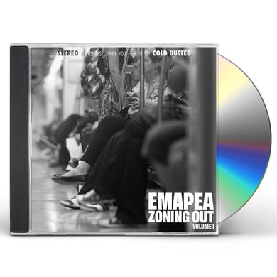EMAPEA ZONING OUT VOL. 1 CD