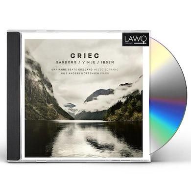 Grieg LIEDER ON TEXTS BY GARBORG IBSEN & VINJE CD