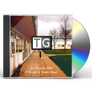 THROBBING GRISTLE SOUVENIR OF CAMBER SANDS (LIVE) CD