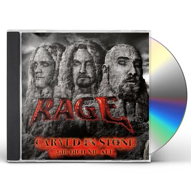 Rage CARVED IN STONE/NEVER GIVE UP CD