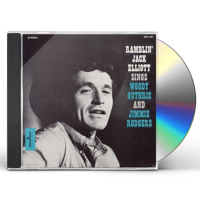 Jack Elliott SINGS SONGS OF WOODY GUTHRIE CD