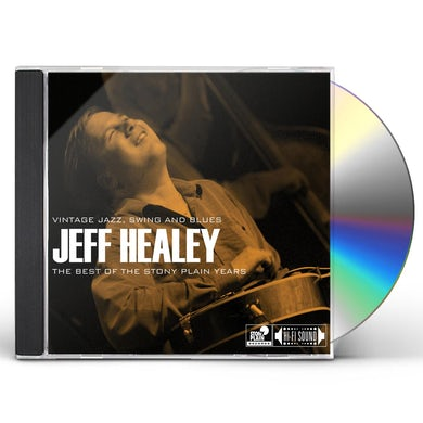 Jeff Healey BEST OF THE STONY PLAIN YEARS: VINTAGE JAZZ CD