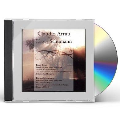 Claudio Arrau INTERPRETA LISZT-SCHUMAN CD