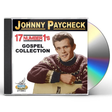 Johnny Paycheck 17 NUMBER 1'S: GOSPEL COLLECTION CD