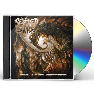 Severed Savior SERVILE INSURRECTION CD
