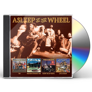 Asleep At The Wheel TEN / WESTERN STANDARD TIME / KEEPIN ME UP NIGHTS CD