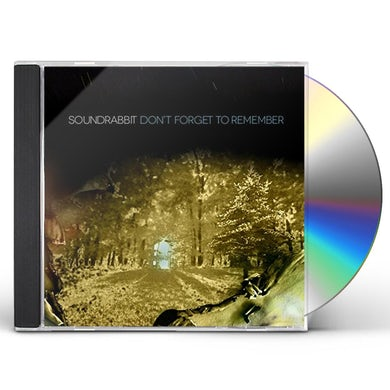SoundRabbit DON'T FORGET TO REMEMBER CD