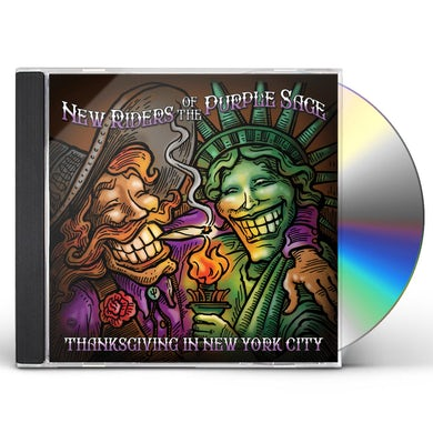 New Riders Of The Purple Sage Thanksgiving in New York City CD