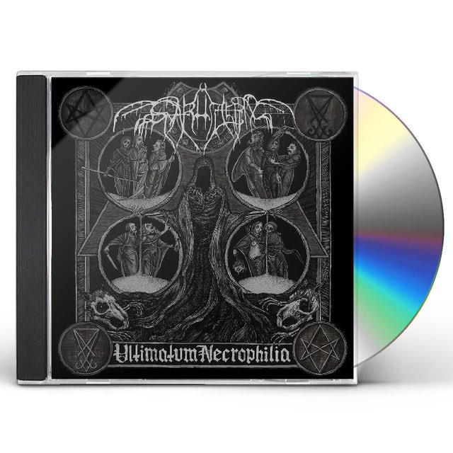 Svarttjern ULTIMATUM NECROPHILIA CD