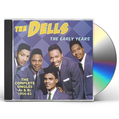 Dells EARLY YEARS: COMPLETE SINGLES AS & BS 1954-62 CD