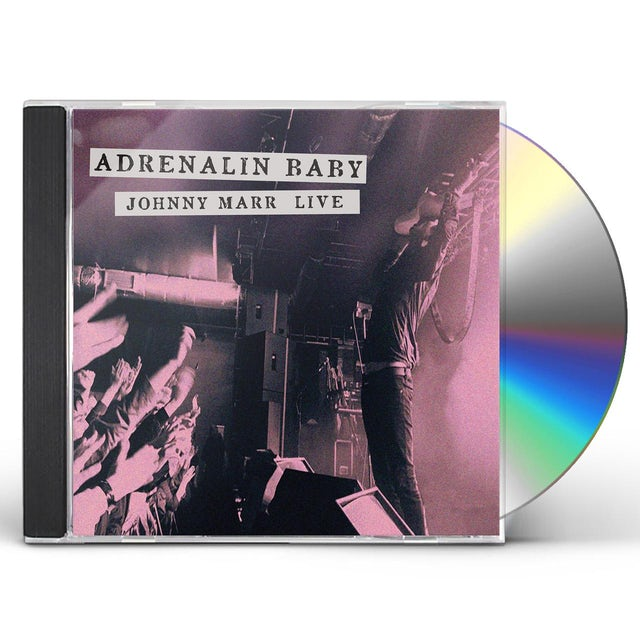ADRENALIN BABY: JOHNNY MARR LIVE CD