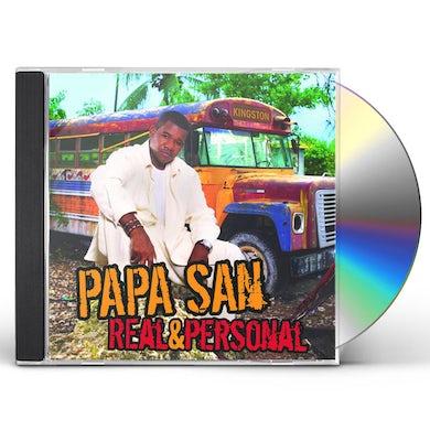 Papa San REAL & PERSONAL CD