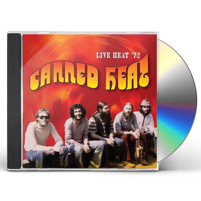 Canned Heat LIVE HEAT 72 CD