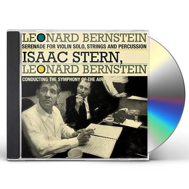 Leonard Bernstein SERENADE FOR VIOLIN SOLO STRINGS HARP & PERCUSSION CD