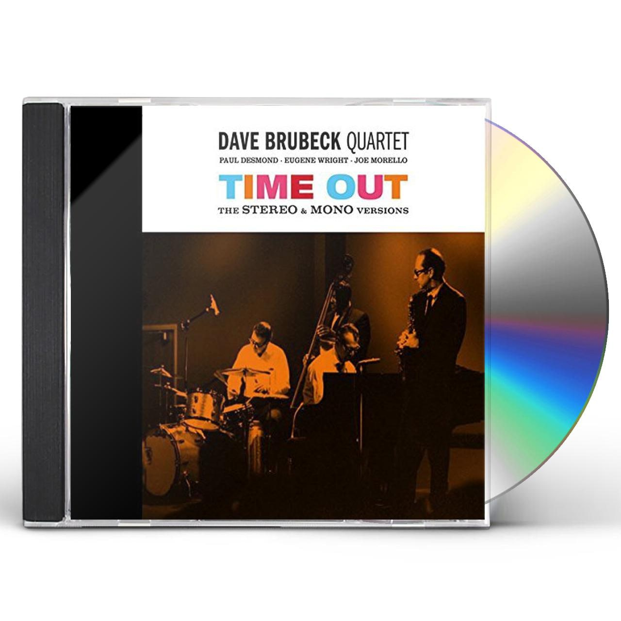 Dave Brubeck TIME OUT: MONO / STEREO VERSIONS + TIME FURTHER CD