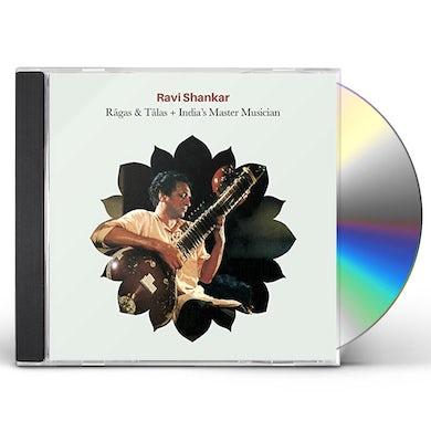 Ravi Shankar RAGAS & TALAS / INDIA'S MASTER MUSICIAN CD